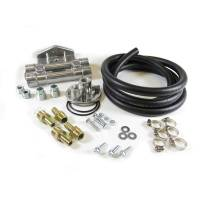 Engine Components - Perma-Cool - Perma-Cool Deluxe Filter Relocation Kit (Dual) 1in-16