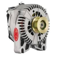 Ignition & Electrical System - Powermaster Motorsports - Powermaster 200amp Alternator Ford 4G Style Natural Finish