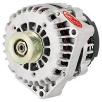 Ignition & Electrical System - Powermaster Motorsports - Powermaster 215amp Alternator GM AD 244 Style Natural Finish