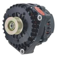 Ignition & Electrical System - Powermaster Motorsports - Powermaster 215amp Alternator GM AD 244 Style w/Black Finish