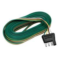 Trailer & Towing Accessories - Tow Ready - Tow Ready 4-Flat Connector Harness - Trailer End