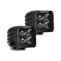 Body & Exterior - Rigid Industries - Rigid Industries LED Light Pair D-Series Spot Midnight