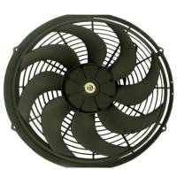 """Cooling & Heating - Racing Power - Racing Power 16"""" Universal Cooling Fan W/Curved Blades 12V"""
