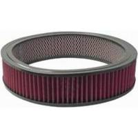 "Air Cleaners and Intakes - Air Filter Elements - Racing Power - Racing Power 14"" X 3"" Round Washable Air Cleaner Element"