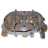 "Brake System - Racing Power - Racing Power Chrome Aluminum Master Cylinder 1-1/8"" Shallow Bore"