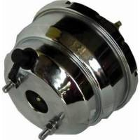 Brake System - Racing Power - Racing Power Chrome Power Brake Booster - 7In