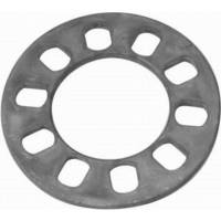 "Wheels and Tire Accessories - Racing Power - Racing Power 5-Hole Disk Brake Spacer (2) 3/8"" Thick"