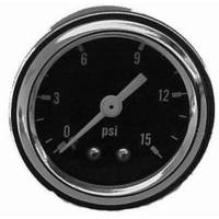 Gauges and Data Acquisition - Racing Power - Racing Power Fuel Pressure Gauge 0-15 psi