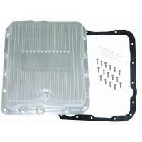 Drivetrain Components - Racing Power - Racing Power Aluminum Transmission Pan GM 700R4- Extra Capacity-Polished