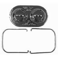 Brake System - Racing Power - Racing Power GM Master Brake Cylinder Cover Chrome