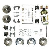 Front Brake Kits - Street / Truck - Right Stuff Detailing Front Disc Brake Conversion Manual Kits - Right Stuff Detailing - Right Stuff Detailing 65 - 68 Full Size Chevy Brake Conversion Kit