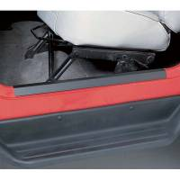 Interior & Cockpit - Rugged Ridge - Rugged Ridge Door Entry Guard Set Black 97-06 Jeep Wrangler