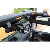 Mobile Electronics - CB Radio Mounts - Rugged Ridge - Rugged Ridge CB Radio Mount 07-18 Jeep Wrangler JK