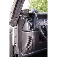 Rugged Ridge - Rugged Ridge CB Radio Dash Mount 97- 06 Jeep Wrangler TJ/LJ
