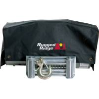 Trailer & Towing Accessories - Rugged Ridge - Rugged Ridge Winch Cover 8500 and 10 500 winches