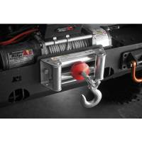 Trailer & Towing Accessories - Rugged Ridge - Rugged Ridge Winch Cable Stopper Red Universal
