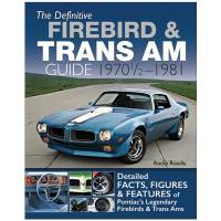 Books, Video & Software - Entertainment Books - S-A Books - Definitive Firebird & Trans Am Guide: 1970 1/2 - 1981