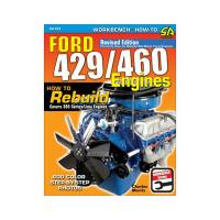 Engine Books - Ford Engine Books - S-A Design Books - Ford 429/460 Engines How To Rebuild