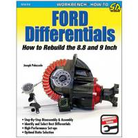 Books, Video & Software - Drivetrain Books - S-A Books - Ford Differentials How to Rebuild 8.8 & 9 Inch