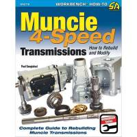 Books, Video & Software - Drivetrain Books - S-A Books - How To Build & Modify Muncie 4 Speed Transmissions