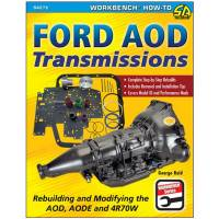 Books, Video & Software - Drivetrain Books - S-A Books - Ford AOD Transmission Rebuilding and Modifying