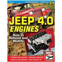 Books, Video & Software - Engine Books - S-A Books - Jeep 4.0L Engines How To Rebuild and Modify