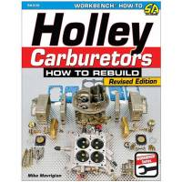 Books, Video & Software - Carburetor Books - S-A Design Books - How To Build Holley Carburetors