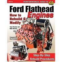 Engine Books - Ford Engine Books - S-A Design Books - How To Build Ford Flatheaad Engines