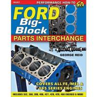 Engine Books - Ford Engine Books - S-A Design Books - Ford Big-Block Parts Interchange