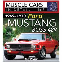 S-A Books - Cars In Detail 69-70 Ford Mustang Boss