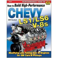 Engine Books - Chevrolet Engine Books - S-A Books - How To Build HP Chevy LS1/LS6 Motors