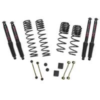 "Suspension Components - Skyjacker - Skyjacker 18- Jeep JL 2-2.5"" Suspension Kit Black Max"