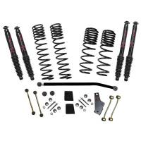 "Skyjacker - Skyjacker 18- Jeep JL 3.5-4"" Suspension Kit Black Max"