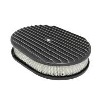 "Air & Fuel System - Specialty Products - Specialty Products Air Cleaner Kit 12"" X 2"" Oval Full Finned Top"