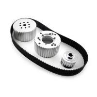 Engine Components - Speedmaster - Speedmaster Gilmer Belt Drive Kit SB Chevy w/Short Water Pump