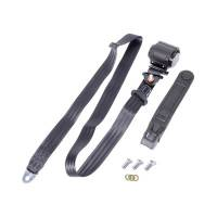 Safe-T-Boy Products - Safe-T-Boy 3 Point Retractable Lap Belt Black