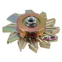 Alternator Parts & Accessories - Alternator Fans - Tuff Stuff Performance - Tuff Stuff Performance Alternator Gold Zinc Fan And Pulley Combo