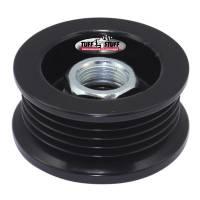 Alternator Parts & Accessories - Alternator Fans - Tuff Stuff Performance - Tuff Stuff Performance Alternator Stealth Black Pulley 5 Groove