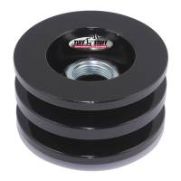 Alternator Parts & Accessories - Alternator Fans - Tuff Stuff Performance - Tuff Stuff Performance Alternator Stealth Black Pulley Double V