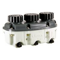 Master Cylinder Components - Master Cylinder Reservoirs - Tilton Engineering - Tilton Reservoir Plastic 3- Chamber Low Profile -04 AN