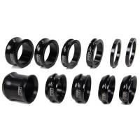 Mini / Micro SprintRear Suspension - Mini Sprint Axle Spacers - Ti22 Performance - Ti22 600 Wheel Spacer Kit 11 Piece Black