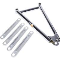 "Mini / Micro Sprint Rear Suspension - Mini Sprint Jacobs Ladders - Ti22 Performance - Ti22 600 Jacobs Ladder 10.25"" Chrome"