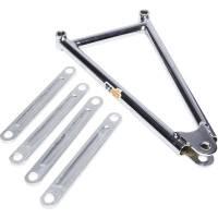 """Mini / Micro SprintRear Suspension - Mini Sprint Jacobs Ladders - Ti22 Performance - Ti22 600 Jacobs Ladder 10.25"""" Chrome"""