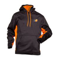 Crew Apparel & Collectibles - Ti22 Performance - Ti22 Sport-Tek Black Orange Ti22 Hoodie Small