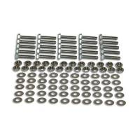 Hardware and Fasteners - Vibrant Performance - Vibrant Performance M10 Fasteners Bulk Pack 25 x 10mm Nuts 50 Washer