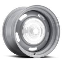 Vision Wheel - Vision Wheel 15X4 5-4.5/4.75 Silver Rally Vision
