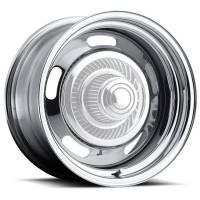 Vision Wheel - Vision Wheel 15X7 5-4.5/4.75 Chrome Rally Vision