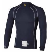 Safety Equipment - Walero - Walero Temperature Regulating Race Underwear Top - Small - Petrol Blue