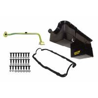 Engine Components - Weiand - Weiand 7 Quart Oil Pan Kit RR Sump SB Ford 351W 79-93 Black