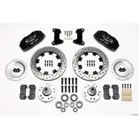 "Front Brake Kits - Street / Truck - Wilwood Dynapro 6 Big Brake Front Brake Kits (Hub) - Wilwood Engineering - Wilwood Front Disc Brake Kit 74- 78 12.19"" Drilled Rotor"